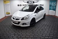 USED 2009 58 VAUXHALL CORSA 1.6 i Turbo 16v VXR Arctic Edition 3dr PAN ROOF + ARCTIC EDITION, FSH