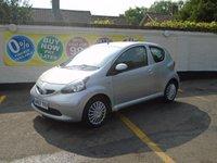 2007 TOYOTA AYGO 1.0 VVT-I PLUS 3d AUTO 67 BHP £3000.00