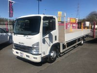 "2013 ISUZU TRUCKS FORWARD N75.190E 21'3"" ALLOY DROPSIDE EASYSHIFT £SOLD"