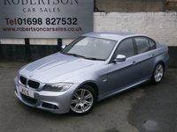 2010 BMW 3 SERIES 2.0 320D M SPORT 4dr £9380.00