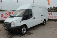 USED 2013 13 FORD TRANSIT 2.2 350 H/R  124 BHP EX FLEET VEHICLE