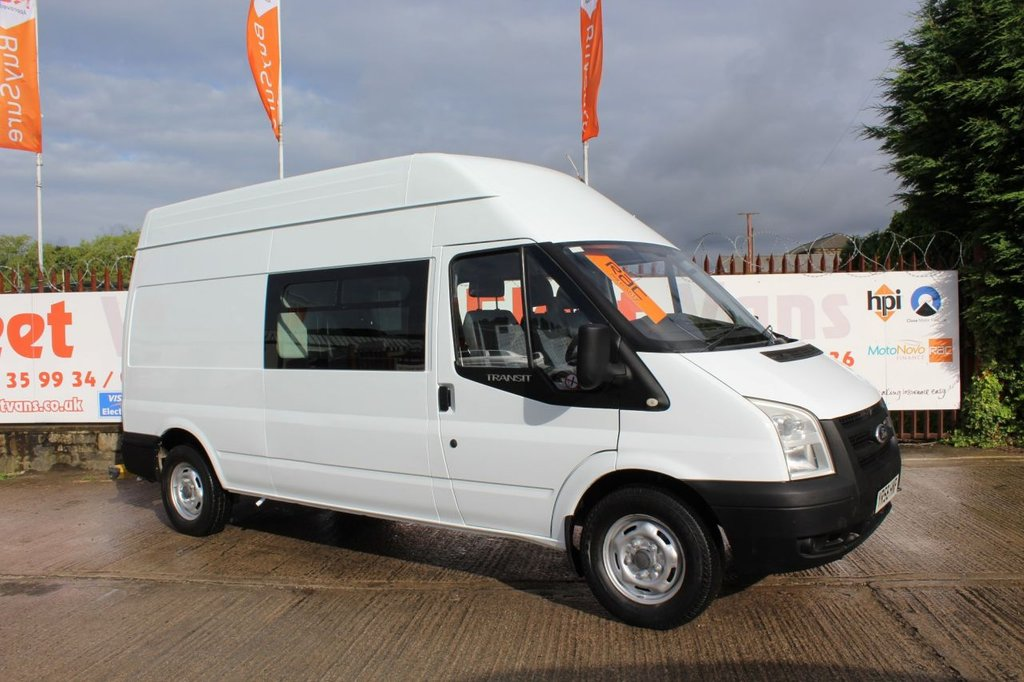 2008 ford transit 350 lwb hr £5,950