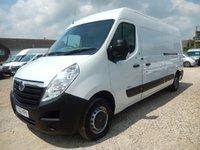 2012 VAUXHALL MOVANO 2.3 F3500 L3H2 CDTI 124 BHP 70184 Miles £7995.00