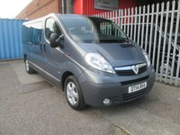 2014 VAUXHALL VIVARO 2.0 COMBI CDTI 9 Seater 113PS *BLUETOOTH*AIR CON* £SOLD