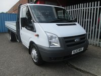2012 FORD TRANSIT 350 EF 4 Metre One Stop alloy Dropside 115PS *38000 MILES* £13995.00