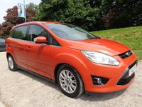 2011 FORD GRAND C-MAX 2.0 GRAND TITANIUM TDCI 5d AUTO 138 BHP £9950.00