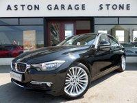2013 BMW 3 SERIES 2.0 320D LUXURY 4d AUTO 184 BHP * SAT NAV * LEATHER * £17400.00
