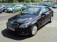 2009 MERCEDES-BENZ C CLASS 2.1 C200 CDI ELEGANCE 4d AUTO 135BHP £8190.00