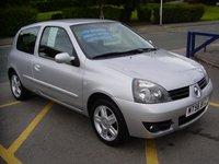 2006 RENAULT CLIO 1.1 CAMPUS SPORT 16V 3d 75 BHP £2295.00