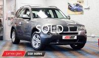 2010 BMW X3 2.0 XDRIVE18D SE 5d 141 BHP £10000.00