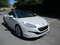 2013 PEUGEOT RCZ 2.0 HDI GT 2d 163 BHP £14995.00