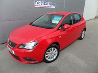 2013 SEAT IBIZA 1.2 CR TDI ECOMOTIVE SE 5d 74 BHP 1 OWNER FSH £5995.00