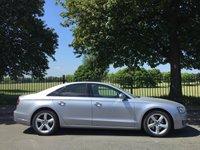 2014 AUDI A8 3.0 TDI QUATTRO SE EXECUTIVE 4d AUTO 254 BHP £25500.00