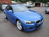 2014 BMW 3 SERIES 2.0 325D M SPORT 4d 215 BHP low miles M sport  £18999.00