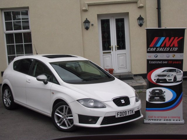 2009 09 SEAT LEON 2.0 FR CR TDI 5d 170 BHP RESERVED FOR KANE