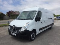2014 RENAULT MASTER LM35 BUSINESS 2.3 LWB Semi High Roof 125 6-Speed £11295.00