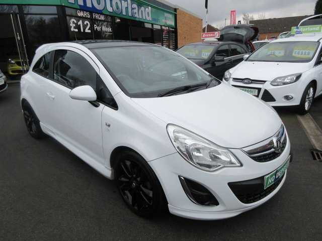 USED 2012 12 VAUXHALL CORSA 1.2 LIMITED EDITION 3d 83 BHP .. CALL 01543 379066 TO ARRANGE TEST DRIVE TODAY
