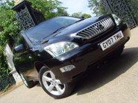 2007 LEXUS RX 3.5 350 5d AUTO 273 BHP £9999.00