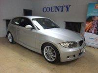 2009 BMW 1 SERIES 2.0 118D M SPORT 3d 141 BHP £5995.00
