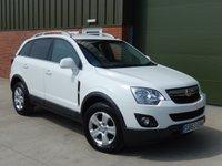 2013 VAUXHALL ANTARA 2.4 EXCLUSIV 5d 165 BHP £9000.00