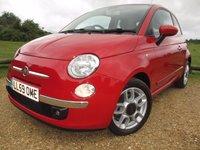 2009 FIAT 500 1.4 SPORT 3d 99 BHP £4950.00