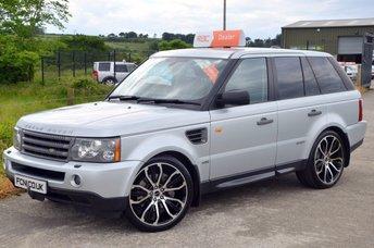 2007 LAND ROVER RANGE ROVER SPORT HSE 2.7 TDV6 4WD ***LOW MILES & TOP SPEC*** £15750.00