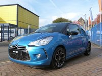 USED 2012 12 CITROEN DS3 1.6 E-HDI AIRDREAM DSPORT 3d  FULL SERVICE HISTORY ~ BLUETOOTH ~ AIR CONDITIONING