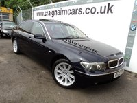 USED 2003 03 BMW 7 SERIES 6.0 760LI 4d AUTO 439 BHP BMW Then One Owner BMW History
