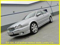 2006 JAGUAR X-TYPE 2.5 V6 SE 4d 195 BHP £2000.00