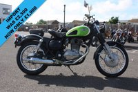 USED 1998 KAWASAKI EX ESTRELLA CLASSIC BJ250A, 1998, BLACK/GREEN, RARE JAPANESE IMPORTED MOTORCYCLE