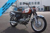USED 1997 KAWASAKI ESTRELLA CLASSIC BJ250A,1997, WHITE/ORANGE, RARE JAPANESE IMPORTED MOTORCYCLE