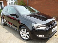 2013 VOLKSWAGEN POLO 1.4 MATCH EDITION 3d 83 BHP CRUISE DAB & OPTICAL PARKING SENSORS £7434.00