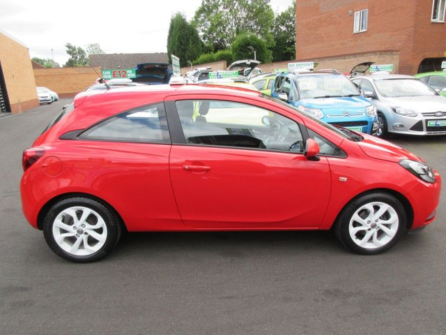 USED 2015 15 VAUXHALL CORSA 1.2 STING 3d 69 BHP ** JUST ARRIVED...ONE OWNER FROM NEW..CALL 01543 379066