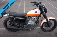 USED 2002 SUZUKI UNSPECIFIED VOLTY GRASS/FLAT TRACKER NJ47, 2002, WHITE/ORANGE, RARE JDM MOTORCYCLE