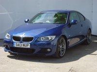 2013 BMW 3 SERIES 2.0 320D M SPORT 2d 181 BHP £15999.00