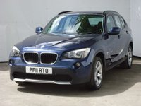 USED 2011 11 BMW X1 2.0 SDRIVE18D SE 5d 141 BHP ONE OWNER CAR WITH A FULL SERVICE HISTORY,