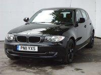 2011 BMW 1 SERIES 2.0 116I SPORT 5d 121 BHP £7999.00