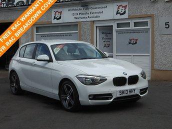 2013 BMW 1 SERIES 1.6 114I SPORT 5d 101 BHP £12000.00