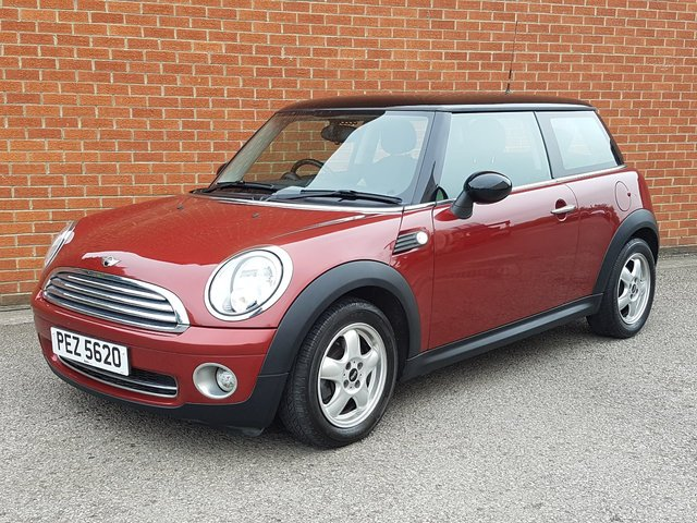 2007 MINI HATCH ONE 1.4 ONE PEPPER PACK & LEATHER