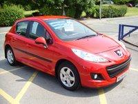 2010 PEUGEOT 207 1.4 VERVE 5d 73 BHP £3995.00