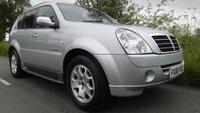 2008 SSANGYONG REXTON 2.7 270 DIESEL  AUTO 162 BHP £7495.00
