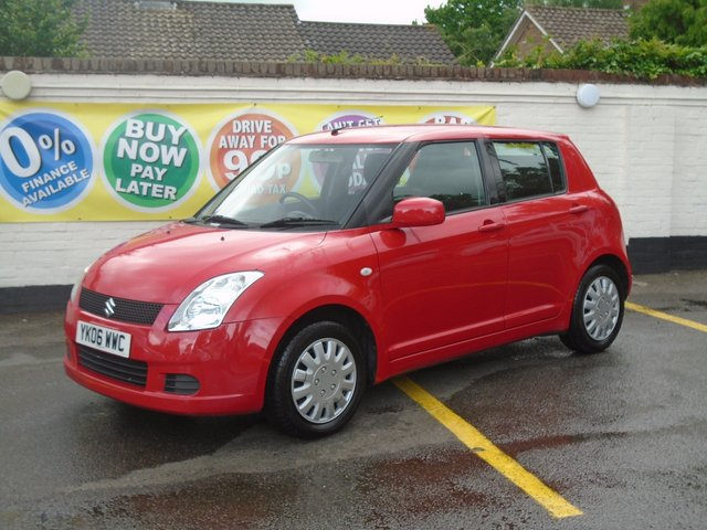 2006 06 SUZUKI SWIFT 1.3 GL 5d 91 BHP