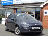 2013 FIAT PUNTO 1.4 GBT 5dr 77 BHP *Only 6500 miles*  £7490.00