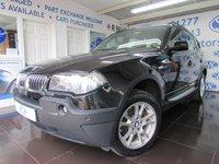 2004 BMW X3 2.5 SE 5d AUTO 190 BHP £4695.00