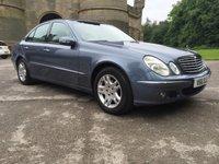 2004 MERCEDES-BENZ E CLASS 1.8 E200 KOMPRESSOR ELEGANCE 4d AUTO 163 BHP £7999.00