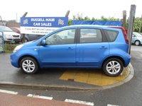 2009 NISSAN NOTE 1.6 ACENTA 5d AUTO 110 BHP £3695.00