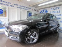 2013 BMW 1 SERIES 1.6 116I SPORT 3d 135 BHP £12894.00