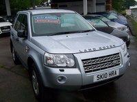 2010 LAND ROVER FREELANDER 2.2 TD4 GS 5d AUTO 159 BHP £10995.00