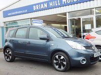 2013 NISSAN NOTE 1.6 ACENTA 5d AUTOMATIC £7395.00