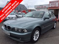 2002 BMW 5 SERIES 2.5 525I SE 4d AUTO 190 BHP £2695.00